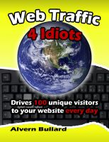 Cover for 'Web Traffic 4 Idiots'