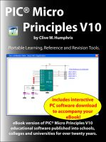 Cover for 'PIC® Micro Principles V10'