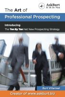 Cover for 'The Art of Professional Prospecting'