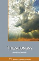 Cover for 'Thessalonians'