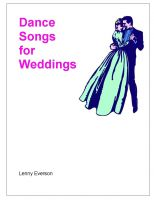 Cover for 'Dance Songs for Weddings'