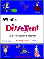 Cover for 'What's Different Young Children Volume 12'