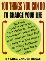 Cover for '100 Things You Can Do, To Change Your Life'