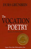 Cover for 'The Vocation of Poetry'