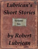 Cover for 'Lubrican's Short Stories - Volume Six'