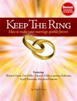 Cover for 'Keep The Ring - How to make your marriage sparkle forever.'