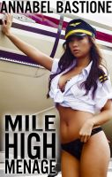 Cover for 'Mile High Menage: F/M/F Threesome Erotica'