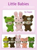 Cover for 'Little Babies Amigurumi Crochet Pattern'