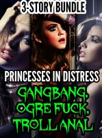 Cover for 'Princesses In Distress (3 Story Bundle) (m/f, orc sex, forced sex)'