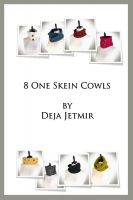 Cover for '8 One Skein Cowls eBook'