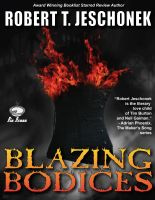 Cover for 'Blazing Bodices'