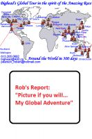 Cover for 'Rob's Report: Picture if you will... My Global Adventure'