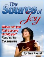 Cover for 'The Source of Joy'