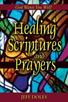 Cover for 'Healing Scriptures and Prayers'