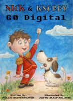 Cover for 'Nick & Knobby Go Digital'