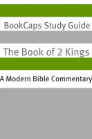 Cover for '2 Kings: A Modern Bible Commentary'