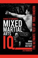 Cover for 'Ranger Up Presents Mixed Martial Arts IQ: The Ultimate Test of True Fandom (Volume II)'
