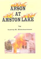 Cover for 'Arson at Amston Lake'