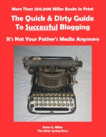 Cover for 'The Quick & Dirty Guide To Successful Blogging'