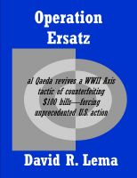 Cover for 'Operation Ersatz'