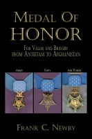 Cover for 'Medal Of Honor:From Antietam To Afghanistan'