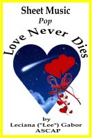 Cover for 'Sheet Music Love Never Dies'