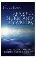 Cover for 'Zealous Blurbs and Proverbs'