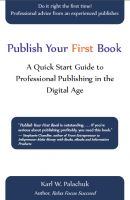Cover for 'Publish Your First Book'