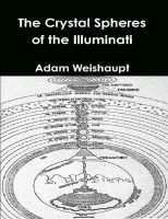 Cover for 'The Crystal Spheres of the Illuminati'