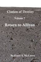Cover for 'Return To Allivan'