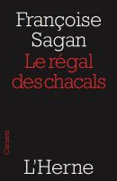 Cover for 'Le régal des chacals'