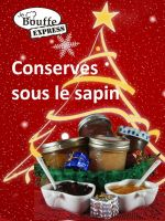 Cover for 'JeBouffe-Express Conserves sous le Sapin'