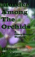 Cover for 'Murder Among The Orchids'