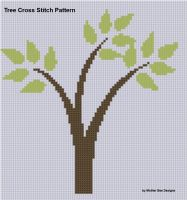Cover for 'Tree Cross Stitch Pattern'