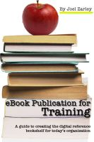 Cover for 'eBook Publication for Training'