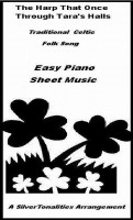 SilverTonalities Sheet Music Services - Harp That Once Through Tara's Halls Easy Piano Sheet Music