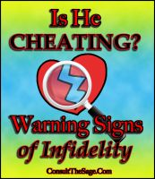 Cover for 'Is He Cheating On Me? Warning Signs of Infidelity'
