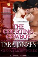 Cover for 'The Courting Cowboy'