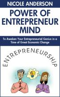Cover for 'The Power of the Entrepreneur's Mind: To Awaken Your Entrepreneurial Genius in a Time of Great Economic Change'