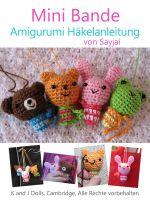 Cover for 'Mini Bande Amigurumi Häkelanleitung'