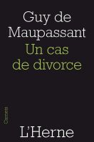 Cover for 'Un cas de divorce'