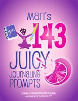 Cover for 'Mari's 143 Juicy Journaling Prompts'