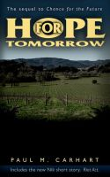 Cover for 'Hope for Tomorrow'