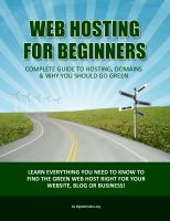 Cover for 'Web Hosting For Beginners - The Complete Guide to Web Hosting & 100% Green Web Hosting'
