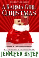 Cover for 'A Karma Girl Christmas (Bigtime superhero series #3.5, short story)'