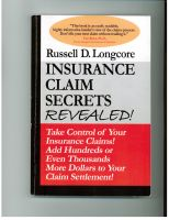 Cover for 'Insurance Claim Secrets REVEALED!'