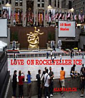 Cover for 'Love on Rockefeller Ice'