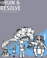 Cover for 'Ruin and Resolve: Pinoy SF for Charity'