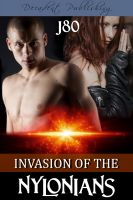 Cover for 'Invasion of the Nylonians'