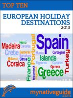 Cover for 'Top 10 European Holiday Destinations for 2013'